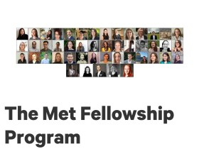 Met Fellowship program 2021/2022
