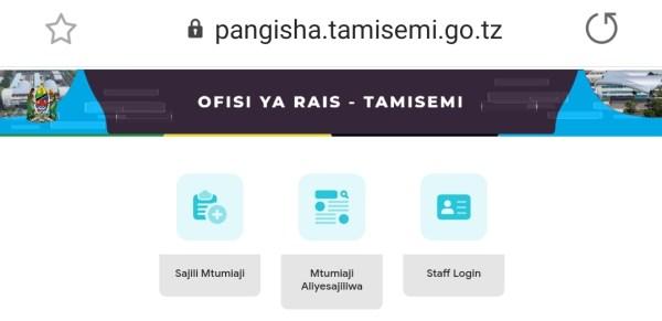 Pangisha TAMISEMI