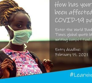 World Bank and Financial Times' blog writing competition