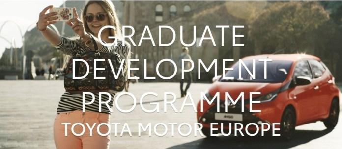 Toyota Graduate Development Programme