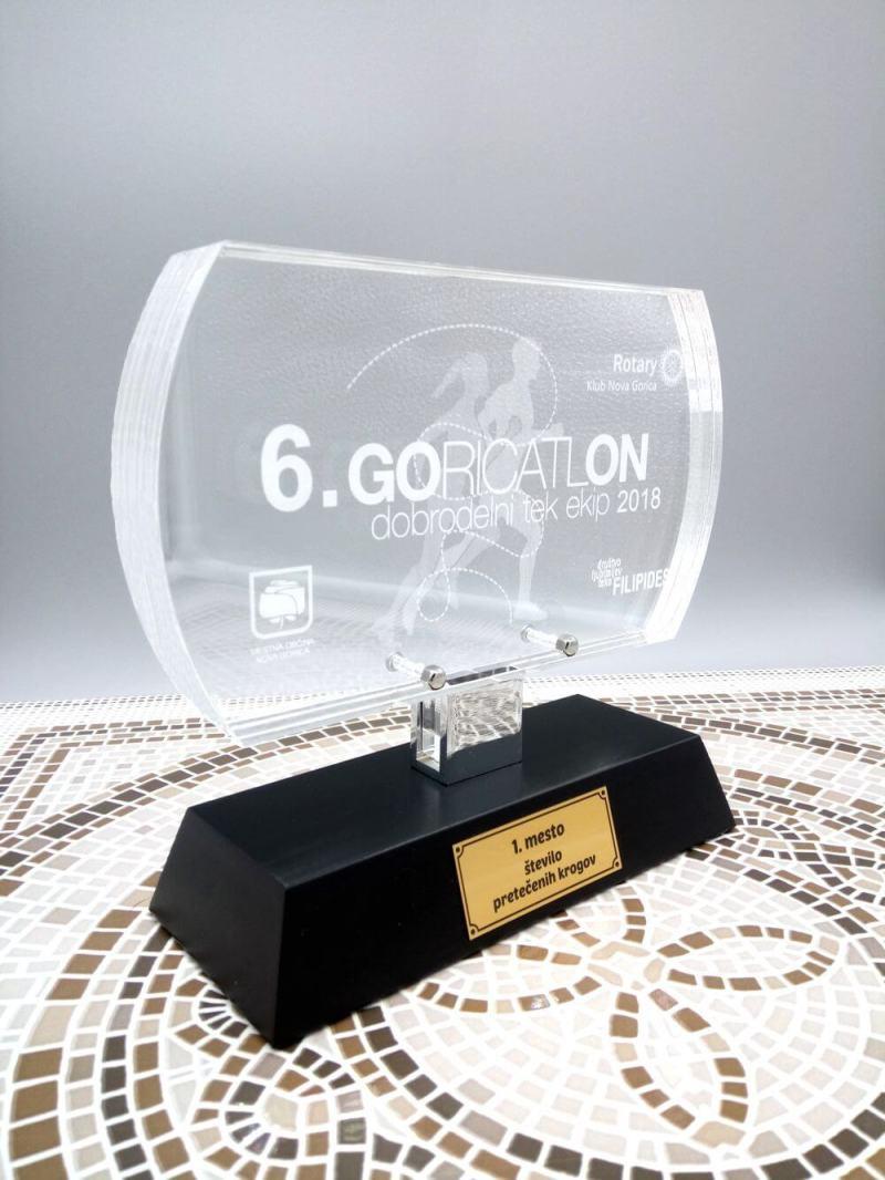 Pokal za Goricatlon