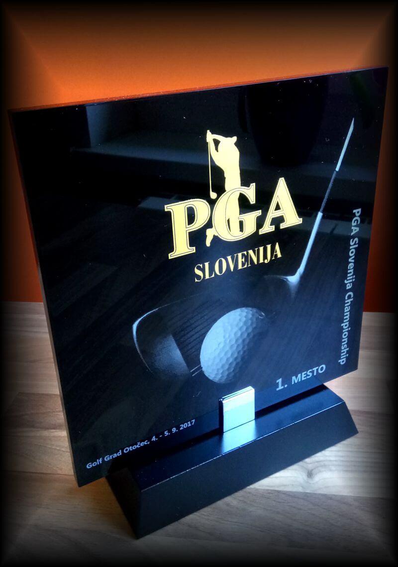 Unikaten Pokal golf