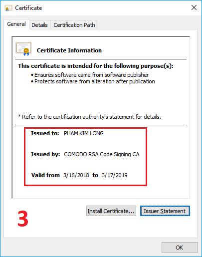 Unikey-Certificate