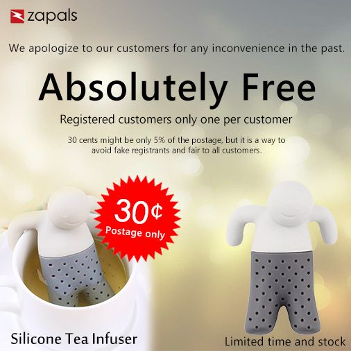 Silicone Tea Infuser Bathing Kids Style Tea Strainer Coupon Code:...