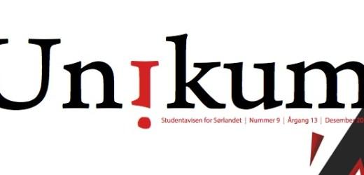 Årets siste utgave av Unikum er her!