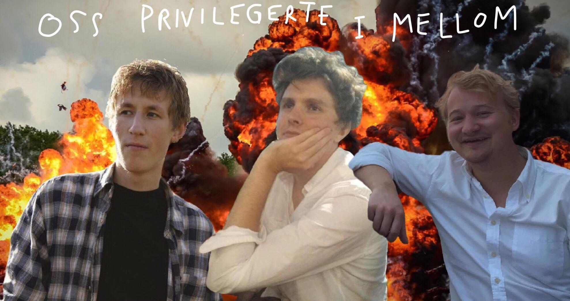 Oss privilegerte: Ligging, bokhyller og nyttårsforsetter