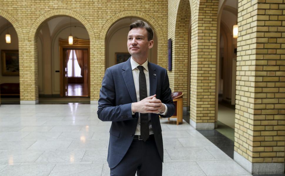 Henrik Asheim (H) blir ny forsknings- og høyere utdanningsminister