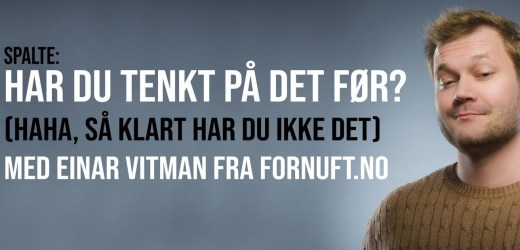Satirikum: Film og TV er for idioter