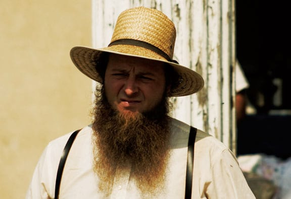 Heres Why Amish Men Have Beards But Shave Their Moustaches