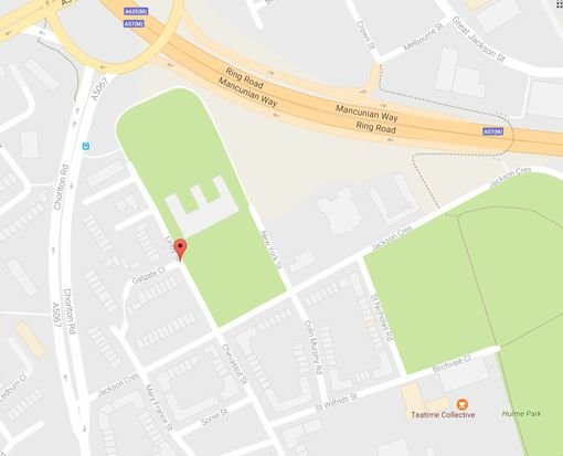 Army And Bomb Disposal Squad Called To Campus In Manchester moss side map