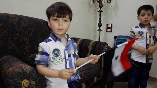 Footage Of Bloodied Boy Who Became Symbol Of Struggle In Syria Shows Him Smiling And Happy At Home 4121391B00000578 4574234 image a 5 1496681539828