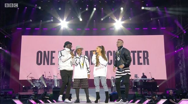 Will.i.am Reveals Real Reason He Shouted Whats Up London? At One Love Manchester Black Eyed Peas Ariana Grande ONE LOVE 1