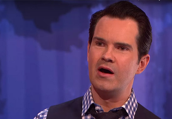 Jimmy Carr Takes Hilarious Dig At Size Of Mans Penis jimmy dig web