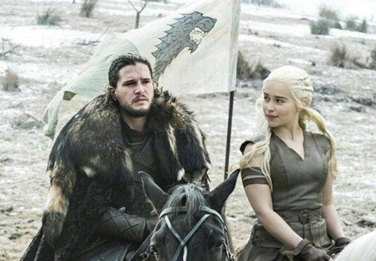 Most F*cked Up Jon And Daenerys Theory Started By George R.R. Martin Himself jon and daenerys web thumb 1