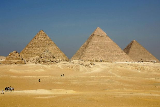 Guy Who Predicted The World Is Ending Today Is Already Backtracking Getty Pyramids 1048x700