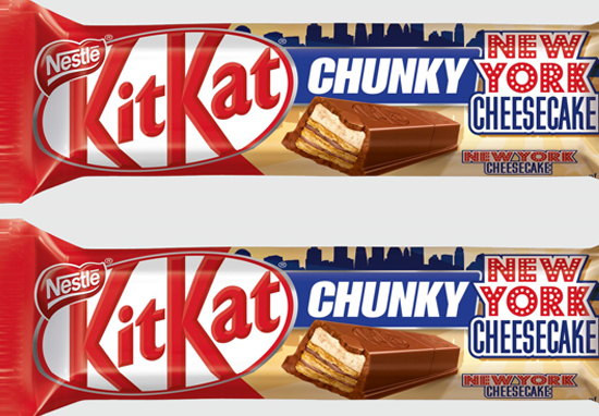 Theres A New Cheesecake Flavoured Kit Kat Chunky And It Looks Incredible KitKat Chunky A