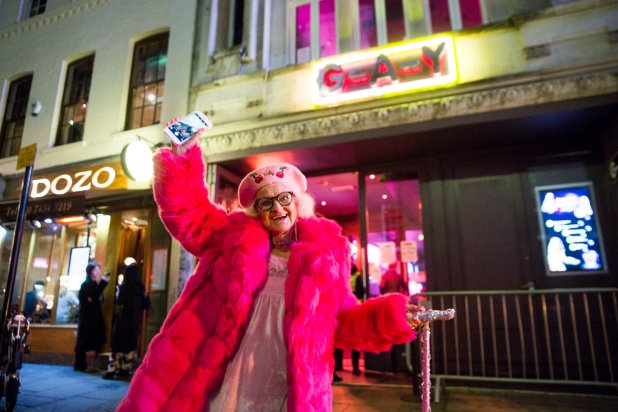 The Worlds Most Desirable Travel Destinations Baddie Winkle enjoys an evening in Soho with Hotels1