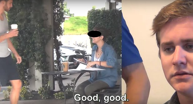 Guy Breaks Down In Tears As He Watches Girlfriend Flirt With Another Guy cheater2