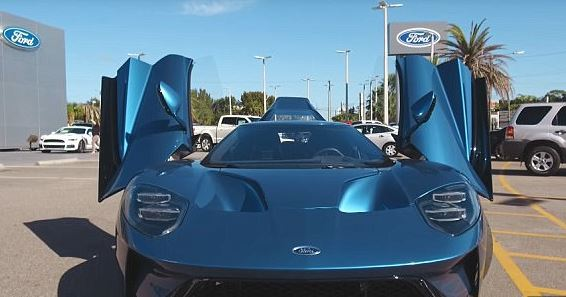 Ford Sues John Cena For Selling $500,000 GT Supercar ford supercar
