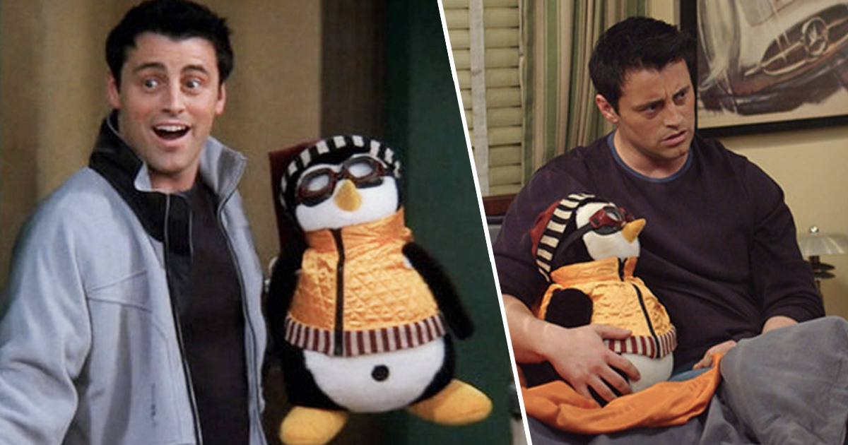 You Can Now Have Your Own Hugsy The Penguin Just Like Joey