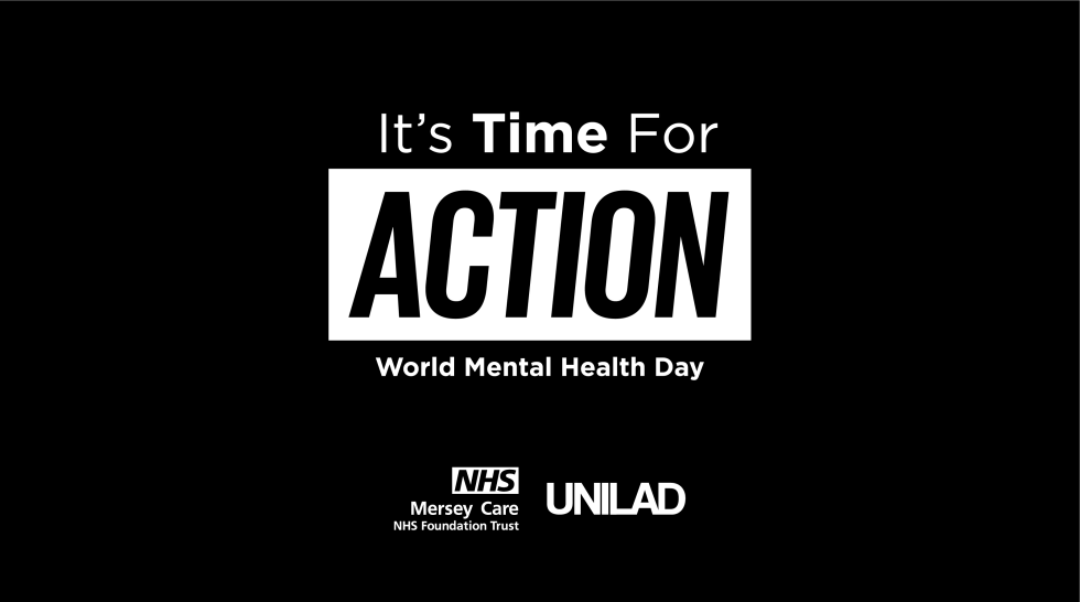 World Mental Health Day Action campaign UNILAD