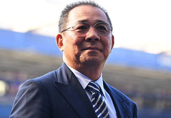 Vichai Srivaddhanaprabha Leicester City owner helicopter crash