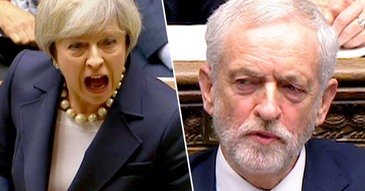 BY : CHARLIE COCKSEDGE 7.3k SHARES Theresa May/Jeremy Corbyn prime ministers questionsBBC Leader of the Labour party Jeremy Corbyn has been accused of calling prime minister Theresa May 'a stupid woman' by Conservative MPs.  The comments apparently came at the end of prime minister's questions today (December 19).  MPs are claiming Corbyn muttered the insult under his breath after May mocked his decision not to call a vote of confidence towards the prime minister.  The pair were engaging in another heated debate at PMQs, and the apparent insult came after the pair's final exchanges of the session.  You can watch the moment here:   MPs are claiming Corbyn muttered the comment after May replied to one of his questions, saying:  I know it's the Christmas season and the pantomime season. He's going to put a confidence vote – oh yes he is, oh no he isn't. I've got some advice.  Look behind you! They are not impressed and neither is the country.  With nothing better to do after the debate – I'm guessing the government has some spare time on its hands with nothing big looming on the horizon like, erm, Brexit – a number of Conservative MPs raised the issue with May in the House of Commons, with former Tory chair Patrick McLoughlin, asking the Speaker, John Bercow, to censure Corbyn.  The MPs who raised the matter were the Commons leader Andrea Leadsom, the Conservative vice-chair Paul Scully, Tory backbencher Anna Soubry, as well as McLoughlin.  Bercow, however, refused to intervene, saying he did not hear or see the exchange.  jeremy corbyn speakingGetty Leadsom then criticised Bercow himself, and claimed he'd not apologised after he once apparently called her a 'stupid woman' in another debate in May this year. The Speaker was reported to the standards watchdog over the incident, The Guardian reports.  Shortly after the alleged insult, Paul Scully mentioned it to the prime minister.  He said:  This year, when we've been celebrating 100 years of women getting the vote, do 