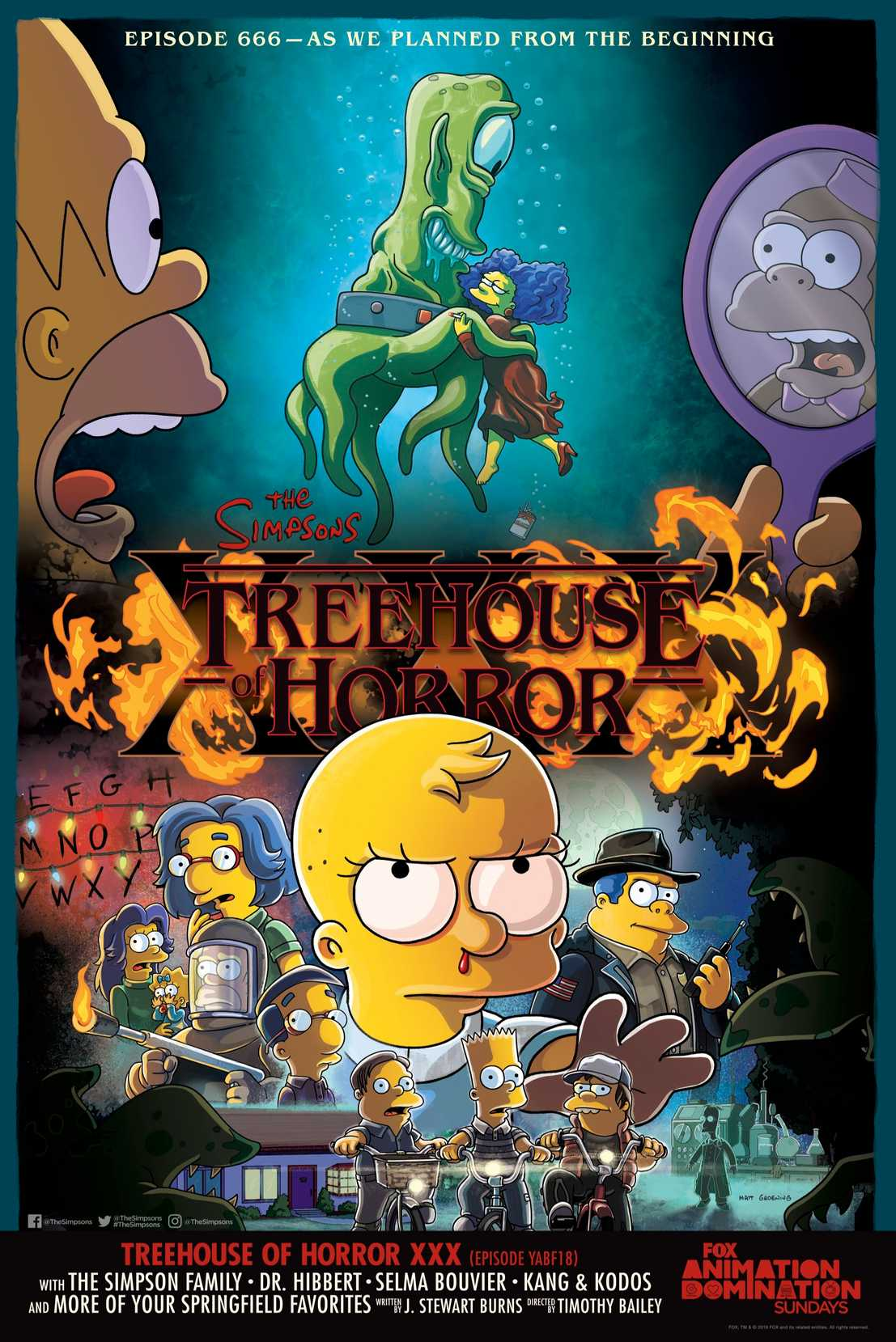The Simpsons Will Spoof Stranger Things In 'Treehouse Of