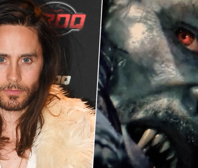 First Look At Jared Letos Morbius Leaks Online Unilad