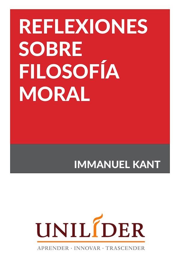 Reflexiones Sobre Filosofía Moral
