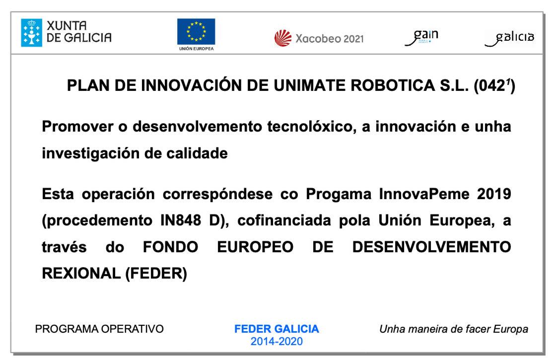 Plan Innovación FEDER IP2019