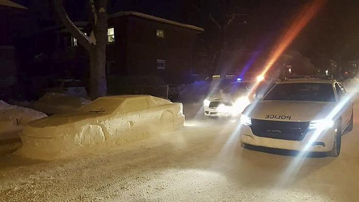 Kardan Yapılan Arabaya Polis Ceza Kesti!