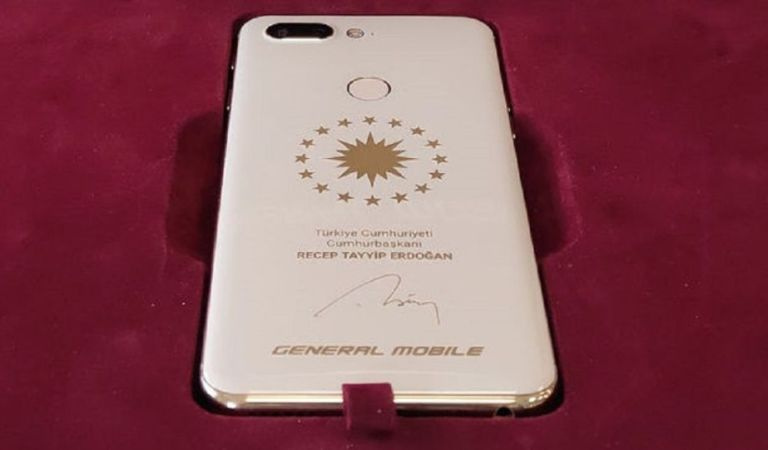 Yerli Akıllı Telefon Üreticisi General Mobile Cumhurbaşkanı Erdoğan İçin Özel Telefon Üretti!