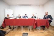 Relatori al Convegno Federazione Marmo Macchine a Carrara