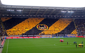 Dresden's ground was almost sold out last time