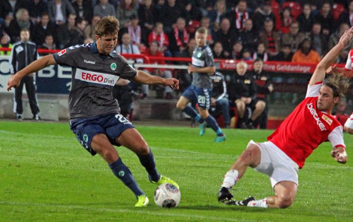 Sören Brandy was sorely missed in the second half