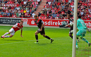 Terodde scores against St. Pauli