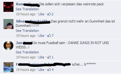 02 - Comments at Die Eisernen on facebook