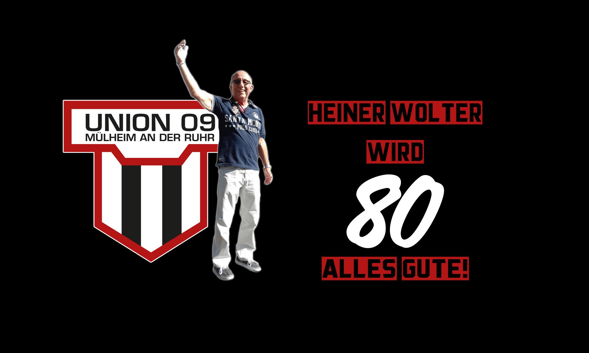 """Unions """"Tafelsilber"""" Heiner Wolter wird 80!"""