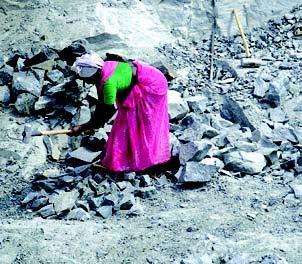 Stone worker