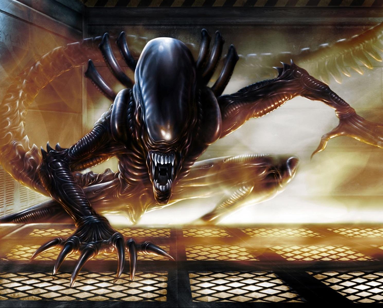 Resultado de imagen de alien en el techo