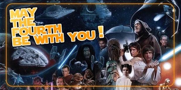 Union Cosmos Star wars may the 4th be with you