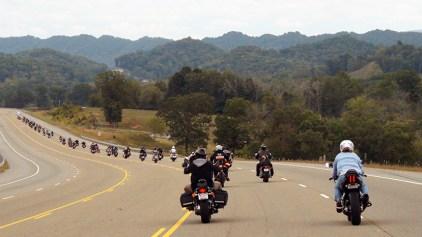 Bikes Riding Through Claiborne County