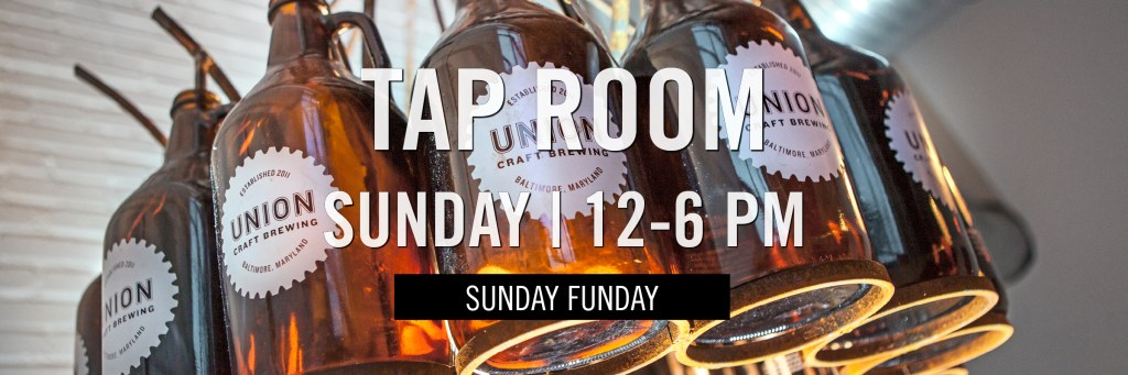 Tap Room - Sunday - 12-6 PM