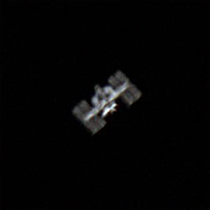Foto della ISS