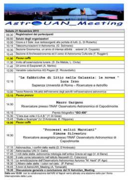 2015 - V AstroUAN_Meeting