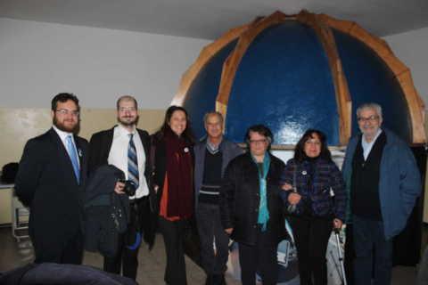 2016 - Inaugurazione del Planetario di Scampia