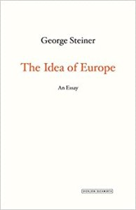 Book Cover: The idea of Europe