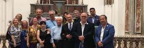 Delegazione del Rotary Club Brindisi- Valesio