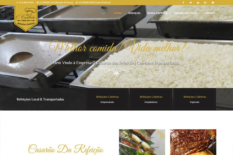 O Casarão - Refeições Coletivas Transportadas Restaurante Grill Bom Gosto